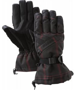 Burton Baker Gloves Blotto Grey Molin Plaid
