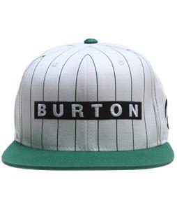 Burton Barred Cap Stout White Pinstripe