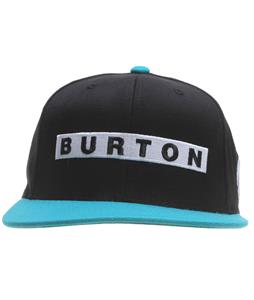 Burton Barred Cap True Black
