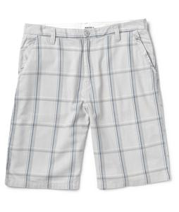 Burton Base Camp Shorts Pewter Plaid