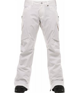 Burton Basis Snowboard Pants Bright White