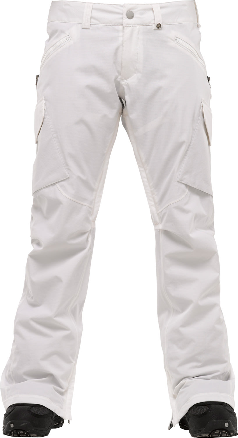 Shop for Burton Basis Snowboard Pants Bright White - Women's
