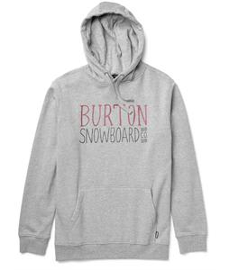 Burton Battery Pullover Hoodie Heather Grey