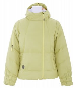 Burton B By Burton Curie Down Snowboard Jacket Citron
