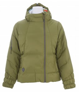 Burton B By Burton Curie Down Snowboard Jacket Olive