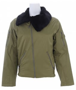 Burton B By Burton Roosevelt Bomber Snowboard Jacket Olive