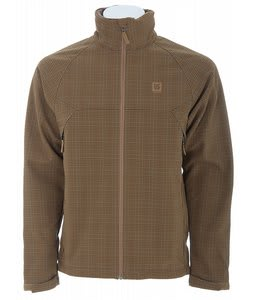 Burton Beacon Softshell Jacket Apres Plaid Sahara