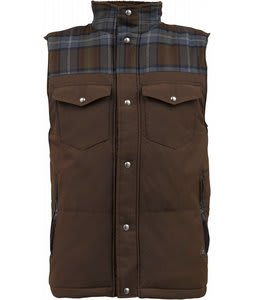 Burton Biggs Puffy Snow Vest Grizzly