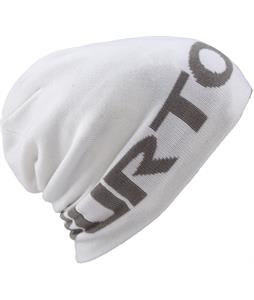 Burton Billboard Slouch Beanie Stout White