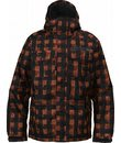 Burton Biltmore Snowboard Jacket Brimstone Painted Buffalo Plaid - Men's