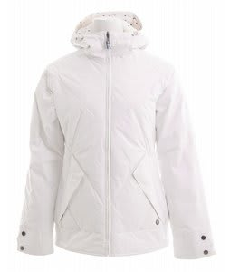 Burton Bliss Down Snowboard Jacket Bright White
