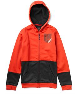 Burton Blocker Bonded Hoodie Cardinal/True Black