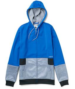 Burton Blocker Bonded Hoodie Cobalt/True Black/Pewter Heather