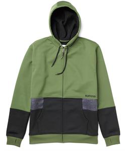 Burton Blocker Bonded Hoodie Olive/True Black Heather/True Black