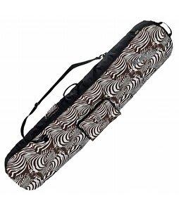 Burton Board Sack Snowboard Bag Antique Ivory Zebra 181