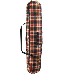 Burton Board Sack Snowboard Bag Majestic Black Plaid 166cm