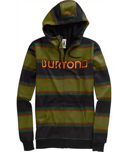 Burton Bonded Hoodie Gold Medal Panhandle Stripe