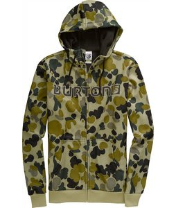Burton Bonded Hoodie Grayeen Fowl Camo