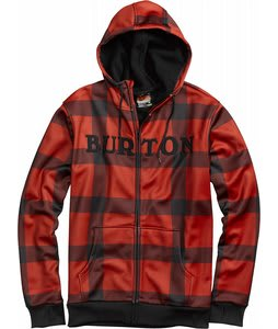 Burton Bonded Hoodie Marauder Buffalo Plaid