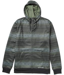 Burton Bonded Hoodie Olive Navajo