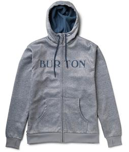 Burton Bonded Hoodie Pewter Heather