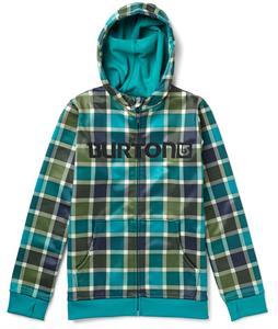 Burton Bonded Hoodie Tidal Bore Revolt Plaid