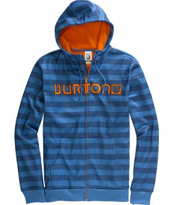 Burton Bonded Hoodie Swedish Blue Home Stripe