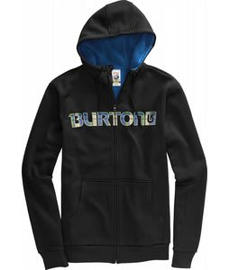 Burton Bonded Hoodie True Black/Blue