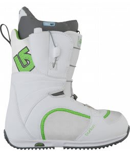 Burton Bootique Snowboard Boots White/Green