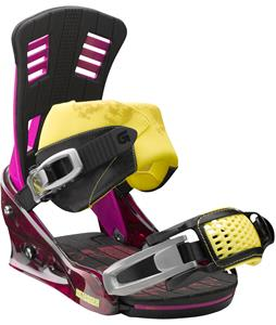 Burton Bootlegger Snowboard Bindings 80 Proof Berry