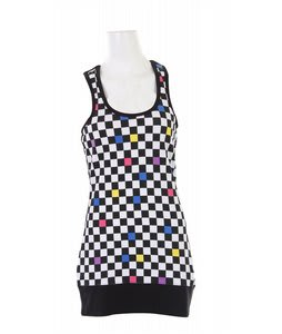 Burton Bocce Tank Top Checkerboard