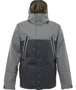 Burton Briggs Snowboard Jacket Quarry Workwear Stripe