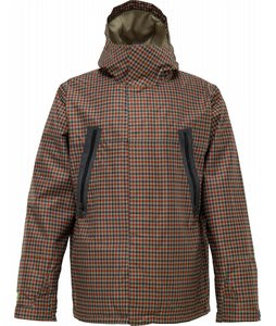 Burton Briggs Snowboard Jacket Lichen Kingham Plaid