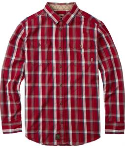 Burton Brighton Flannel Chili Pepper Utica Plaid