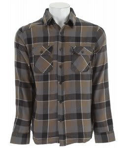 Burton Brighton L/S Flannel Shirt Blotto Grey