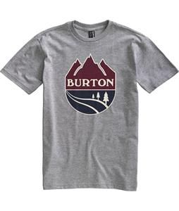 Burton B Team T-Shirt Heather Grey