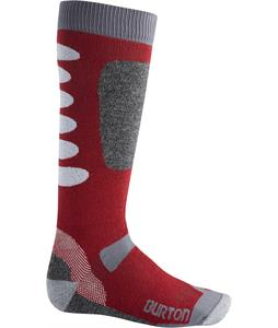 Burton Buffer II Socks Crimson