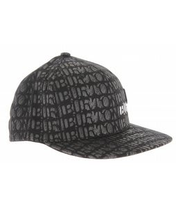 Burton Buford Flexfit Cap True Black