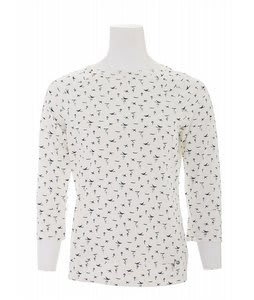 Burton Bunny Invasion Boat Shirt Bright White