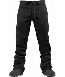 Burton Burner Denim Snowboard Pants Black Wash
