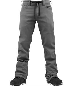 Burton Burner Denim Snowboard Pants Grey