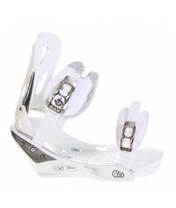 Burton C60 Snowboard Bindings White