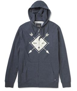 Burton Camp Arrowhead Recycled Full-Zip Hoodie Heather Eclipse