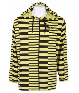 Burton Camp Hoodie Barier Ylw Split Strp