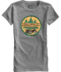 Burton Camp Out T-Shirt Heather Pewter