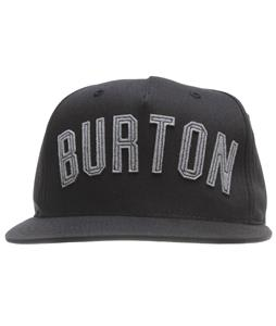 Burton Canal Starter Cap True Black
