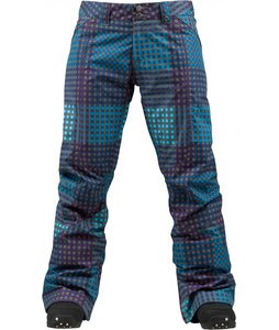 Burton Canary Snowboard Pants Heathers Cheeky Plaid