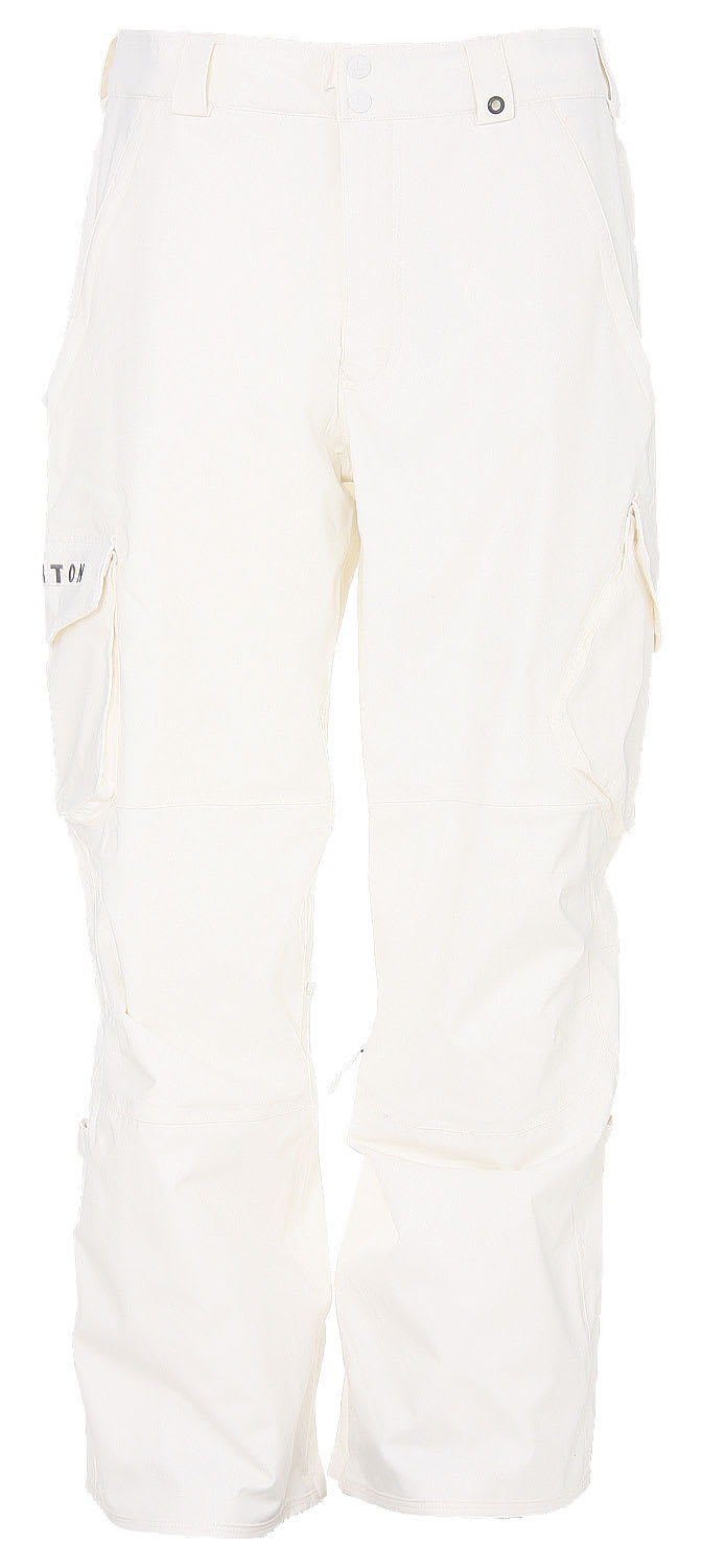 Shop for Burton Cargo Snowboard Pants Bright White - Men's