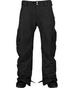 Burton Cargo Mid Fit Tall Snowboard Pants True Black