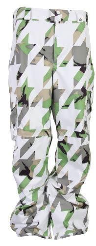 Burton Cargo Snowboard Pants Bright White Hounds